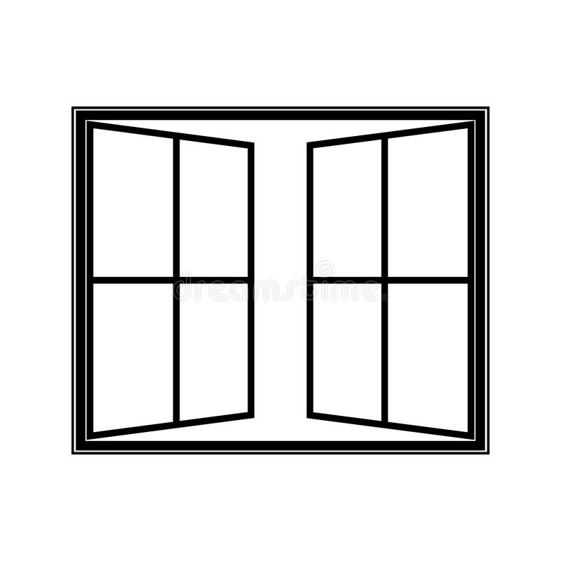 Open Window Clipart Clipart Suggest: Open Window Icon Stock Vector. Illustration Of Home