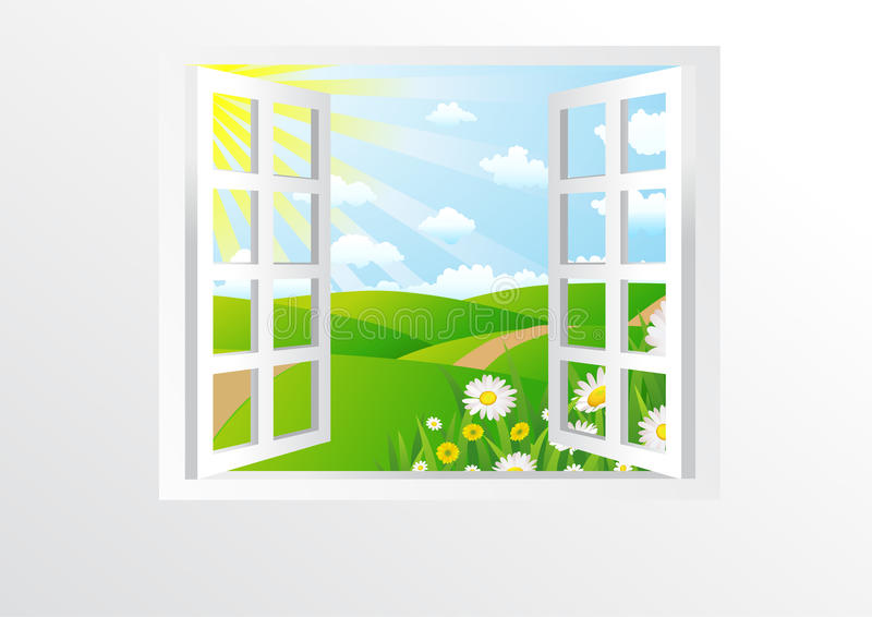 Download Open Windows Royalty Free Stock Photos - Image: 17012678