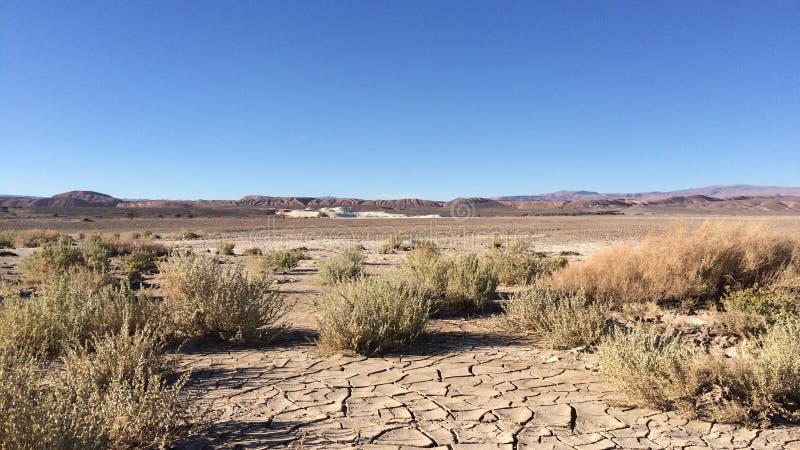 open woestijnlandschap, atacamawoestijn, Chili royalty-vrije stock fotografie