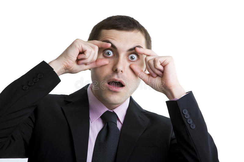 Download Open your eyes stock photo. Image of stock, suit, success - 16089008