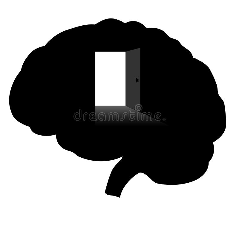 Open your mind royalty free stock photo