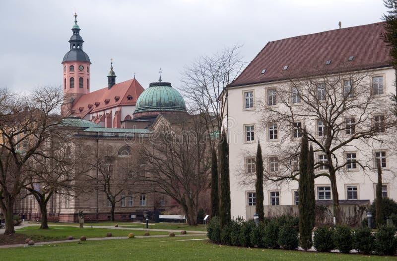 Openbaar Park In Baden-Baden Stock Afbeelding - Afbeelding ...