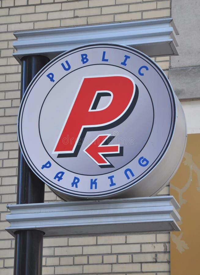 Openbaar parkeren stock afbeeldingen