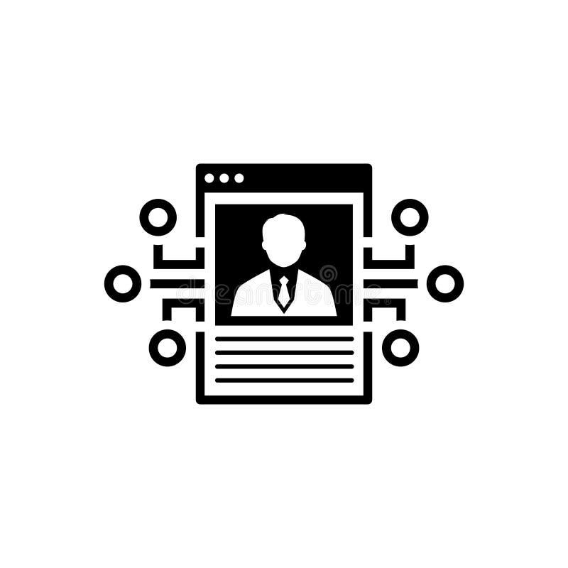 Openbaar Reputatiepictogram royalty-vrije illustratie
