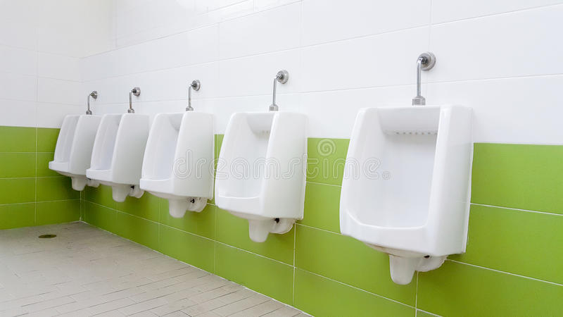 Openbaar toilet stock foto