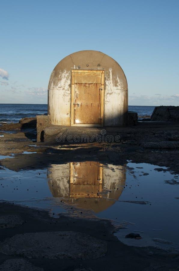 Openbare badenpump-house; Newcastle, Australië royalty-vrije stock foto