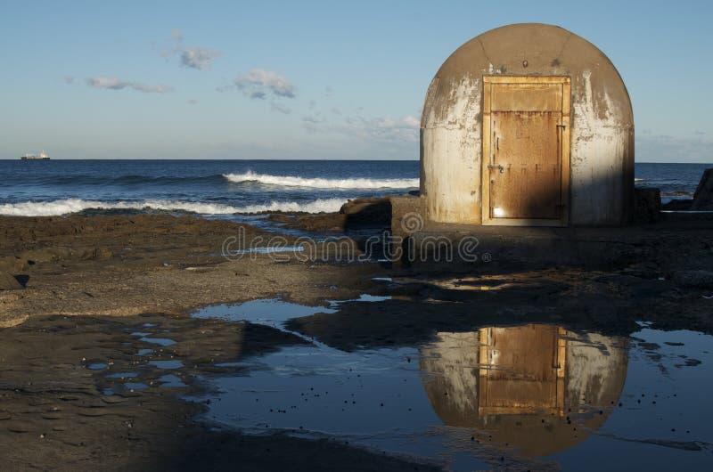 Openbare badenpump-house; Newcastle, Australië royalty-vrije stock foto's