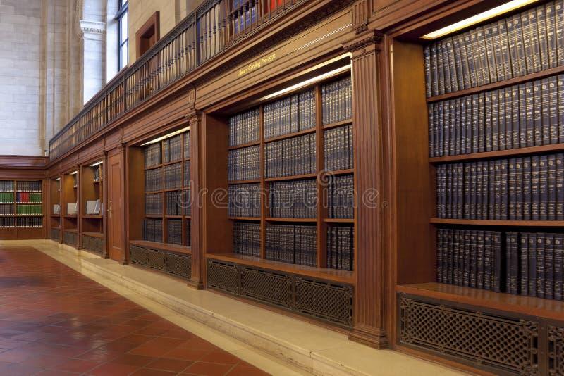 Openbare bibliotheek stock foto's