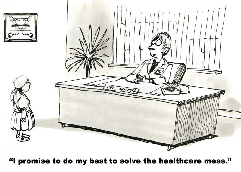 Openbare Gezondheidszorg stock illustratie