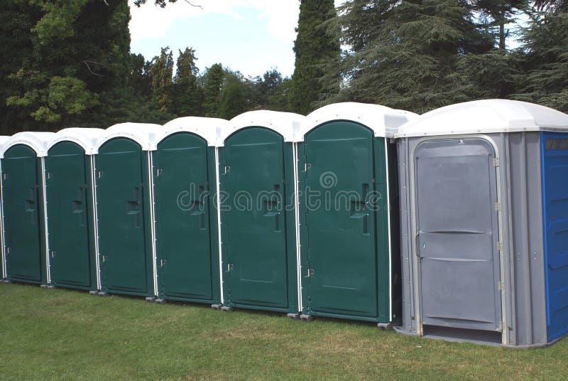 Openbare Toiletten stock afbeelding