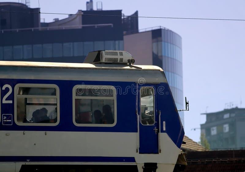 Openbare trein royalty-vrije stock afbeelding
