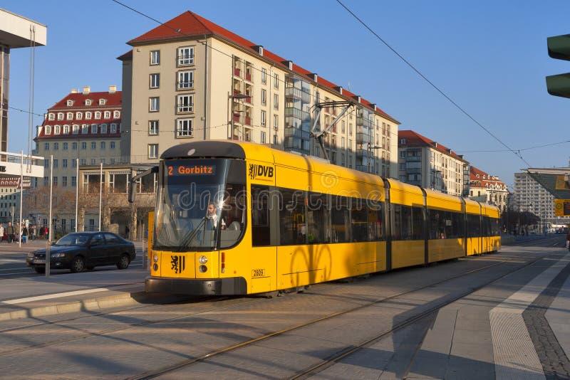 Openbare Vervoer van Dresden stock fotografie