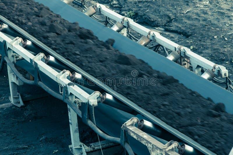 Download Opencast угольная шахта бурого угля Ленточный транспортер Стоковое Фото - изображение насчитывающей перевозка, machinery: 40587712