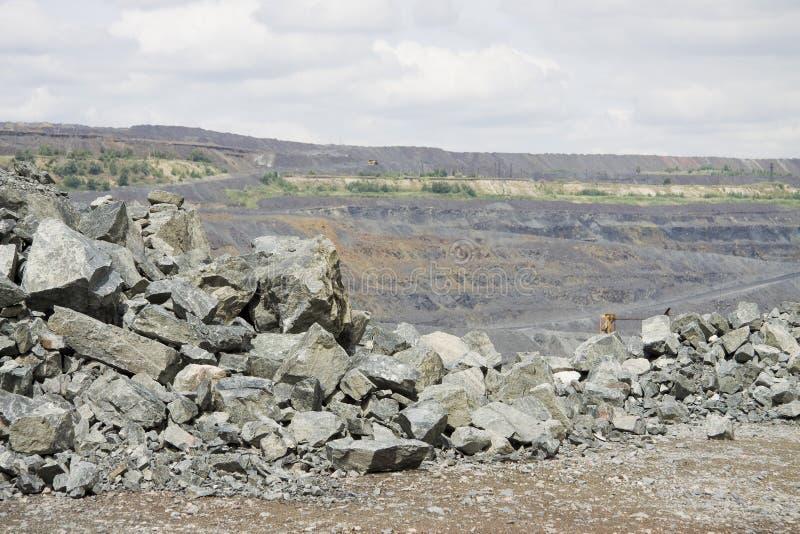 Download Opencast mining stock photo. Image of stones, quarry - 15061156