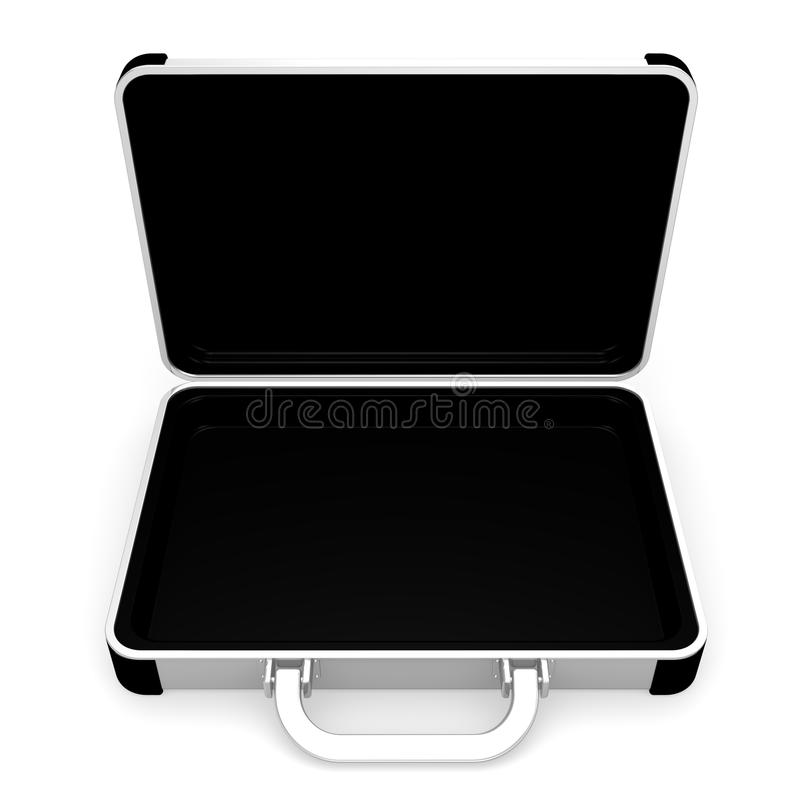 Download Opened Aluminum Attache Case Stock Illustration - Image: 31502024