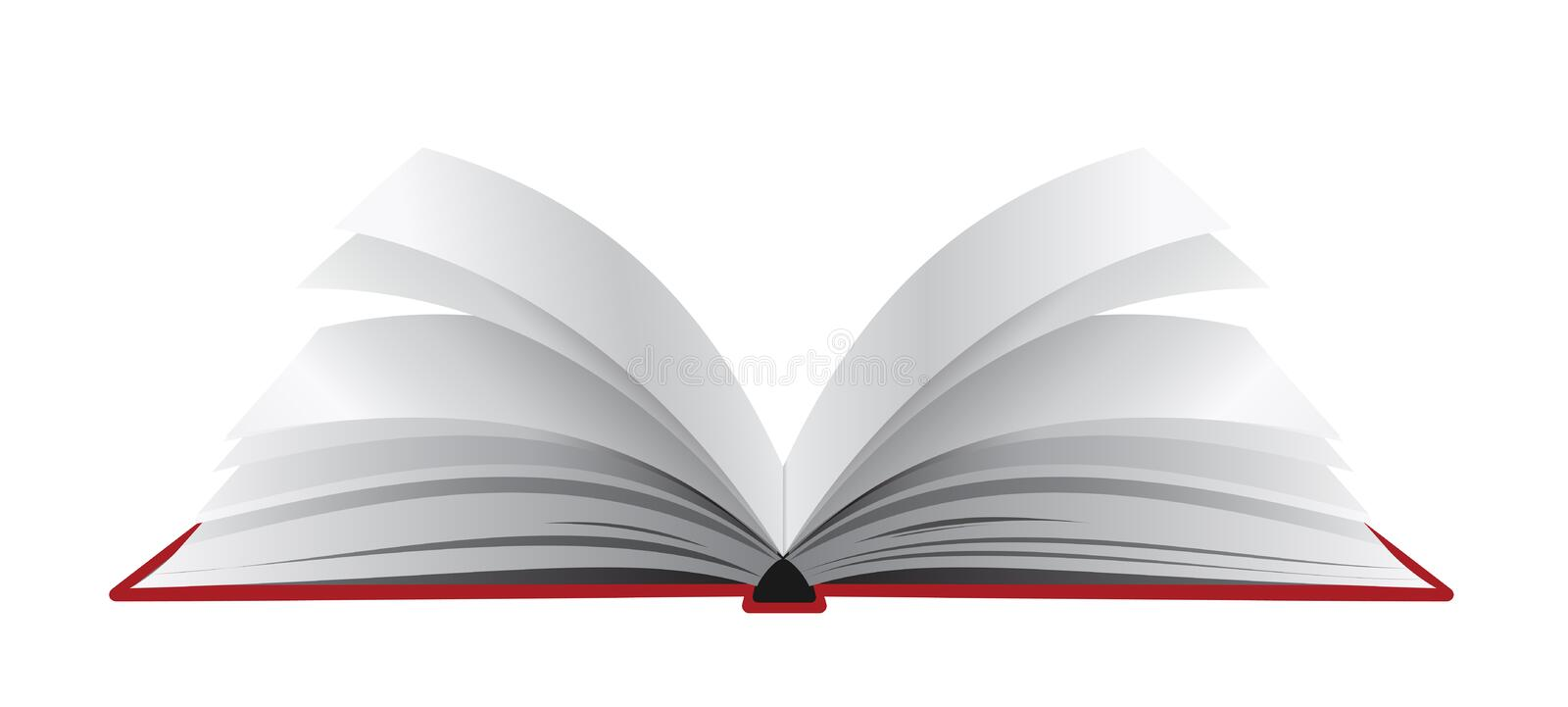 Download Opened book stock vector. Image of creative, page, library - 19738600