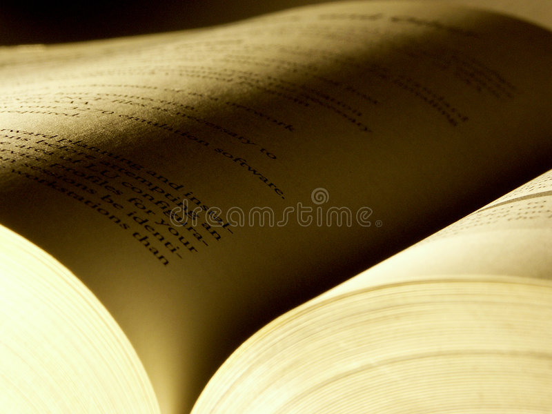 Opened book 2 royalty free stock image