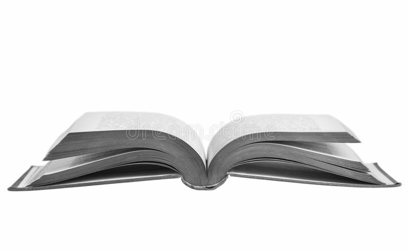 Opened book. stock images