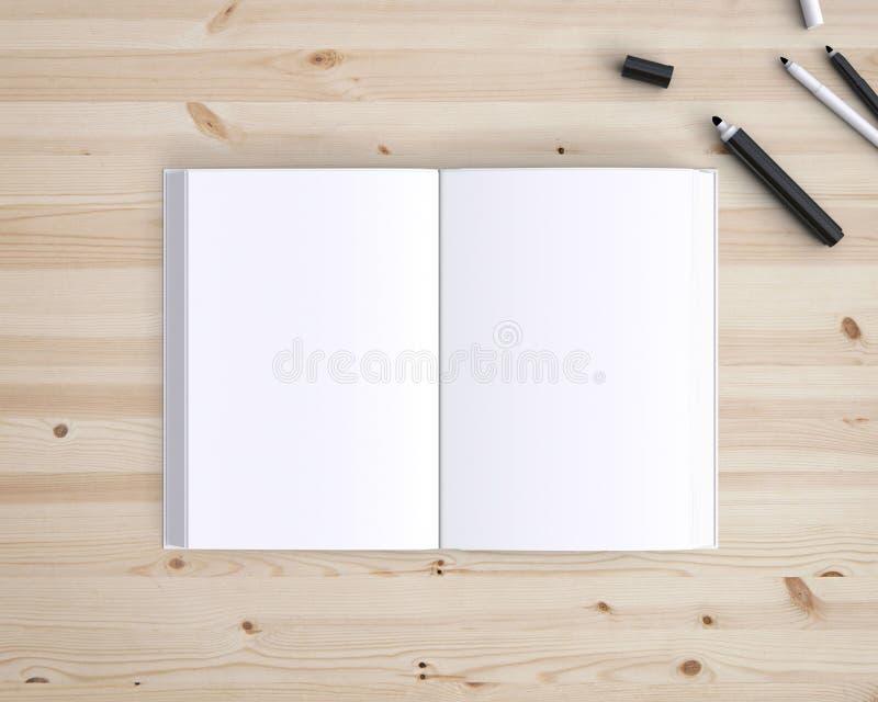 Opened book stock photos