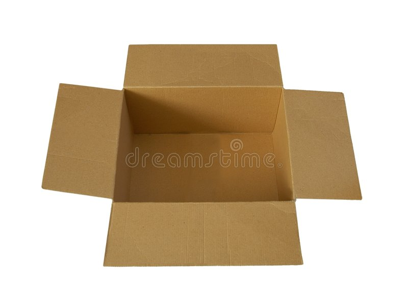 Download Opened box stock image. Image of good, empty, parcel, product - 77609