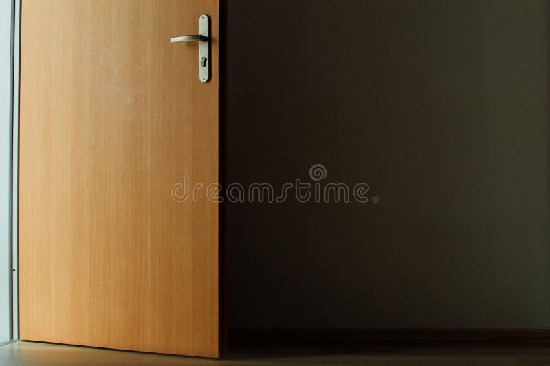 Opened Brown Wooden Door Free Public Domain Cc0 Image