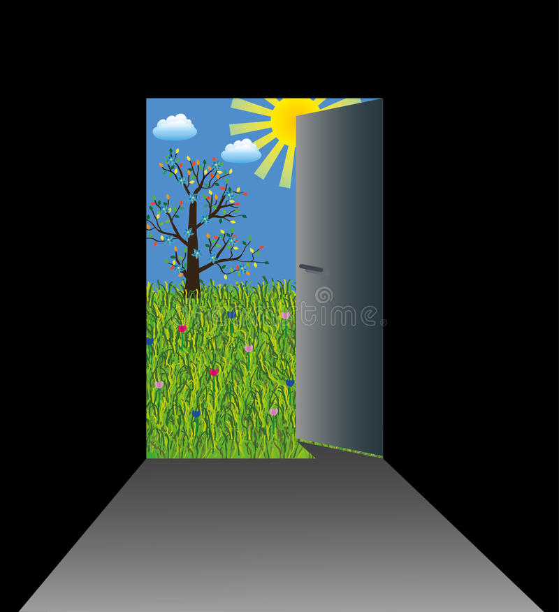 Free Opened Door To Dreams World Stock Photos - 18353353