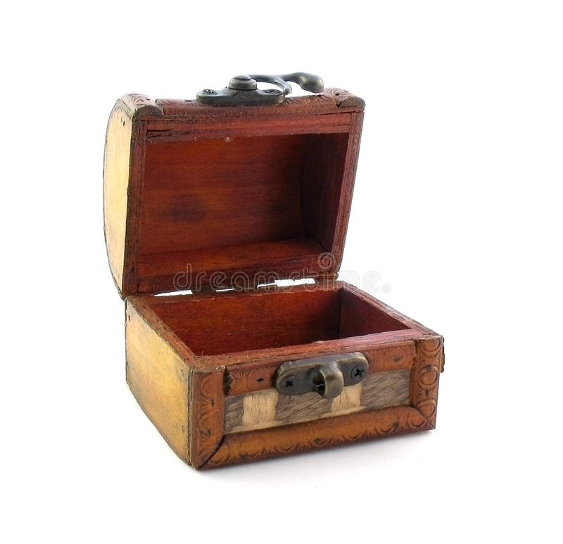 Opened Empty Chest Stock Photography