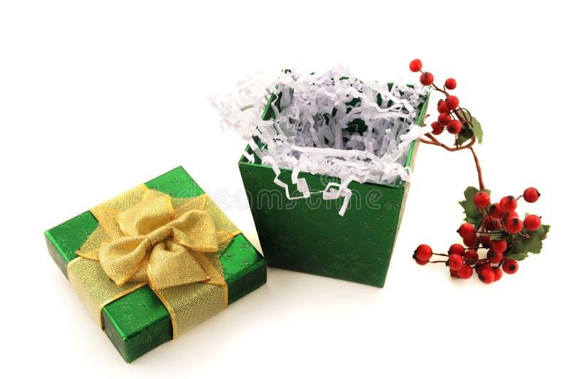 Download Opened Gift stock photo. Image of shiny, holiday, shredded - 20937294