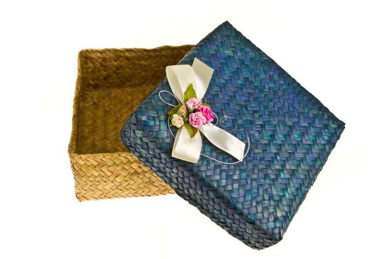Download Opened hand made gift box stock image. Image of giving - 24377391