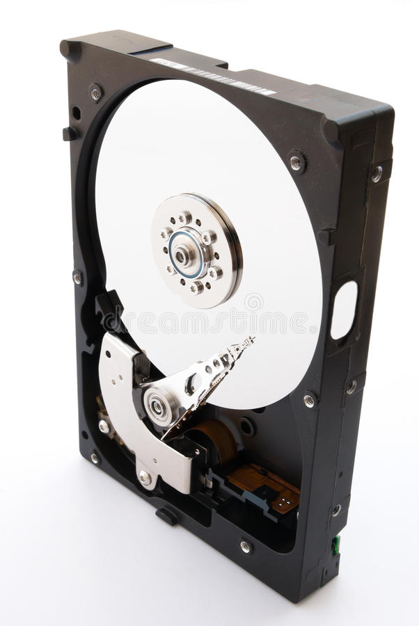 Opened Hard Disk Royalty Free Stock Images