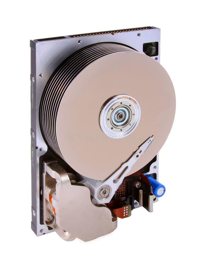 Opened Hard drive royalty free stock image