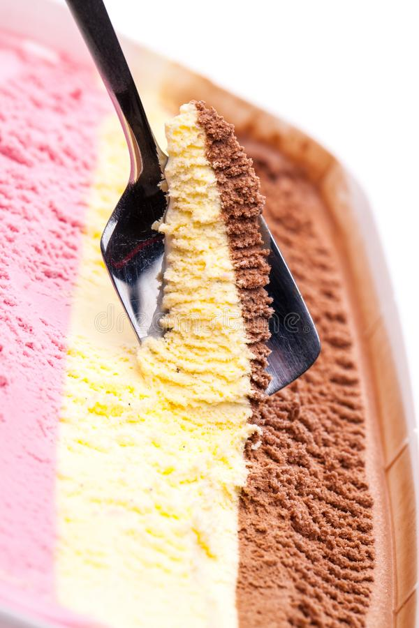 Colorful Spoons: Colored Ice Cream Spoons Stock Image. Image Of Isolated