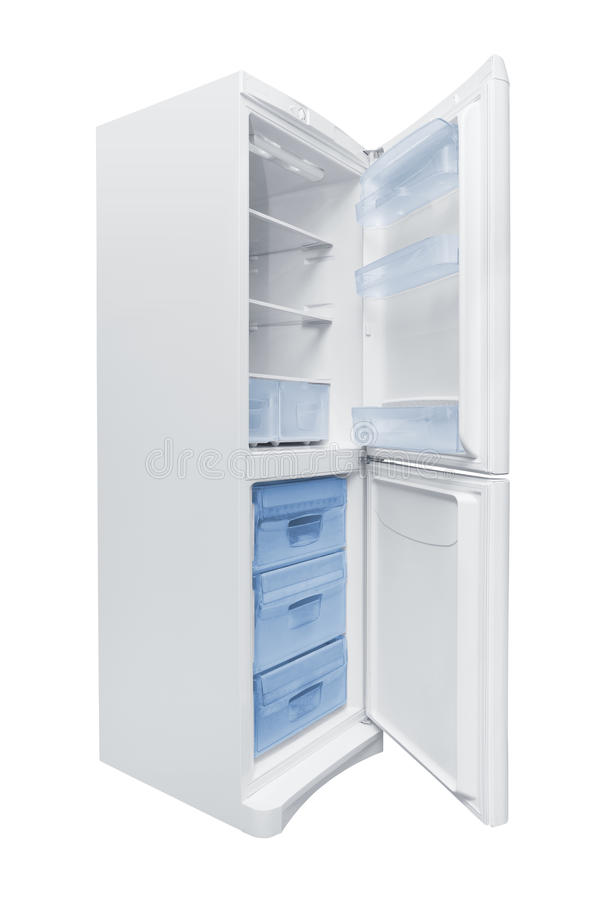 Download Opened Refrigerator stock photo. Image of background - 28883642
