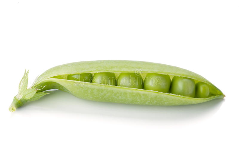 Download Opened Ripe Pea Vegetable Royalty Free Stock Image - Image: 20369906