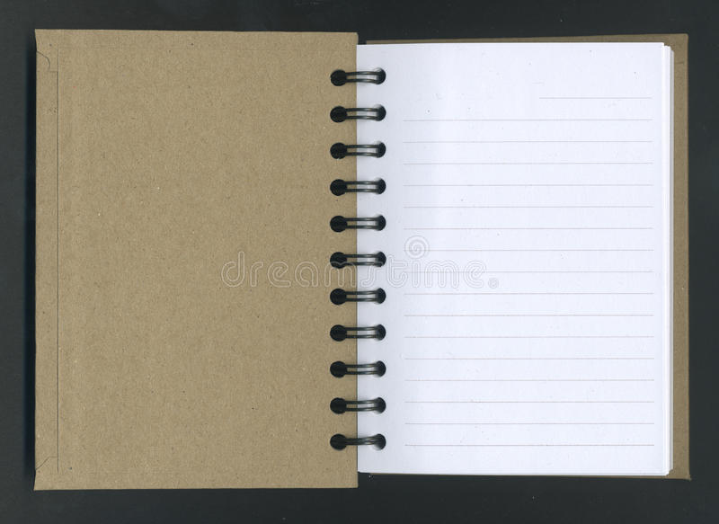 Download Opened Spiral Notebook. stock image. Image of ringed - 19271311