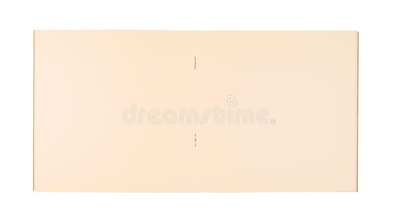 Opened Square Notebook royalty free stock photo