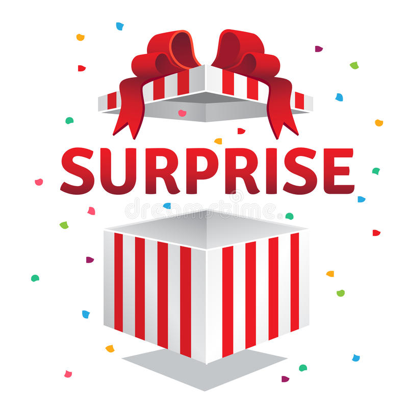 Free Opened Surprise Gift Box Royalty Free Stock Photo - 67601205