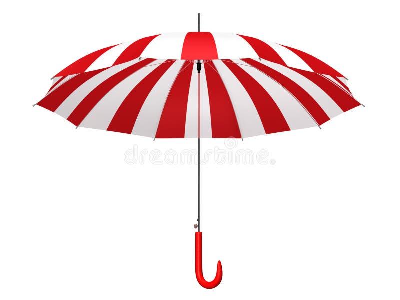 Opened umbrella vector illustration