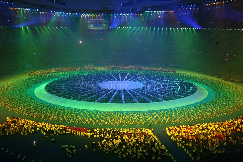Download The Opening Ceremony editorial stock image. Image of china - 6309969