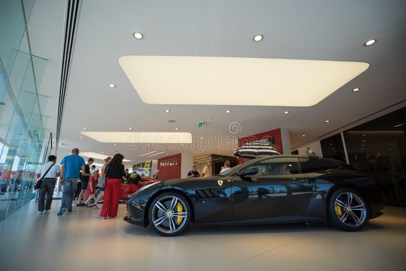 Ferrari Gold Coast Australia Showroom Opening Day royalty free stock images