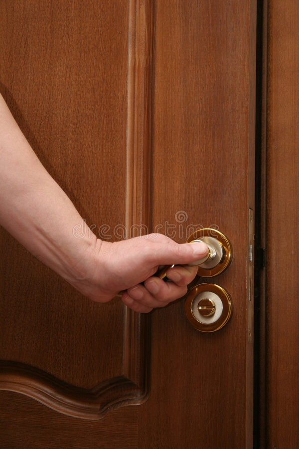 Download Opening The Door Royalty Free Stock Photo - Image: 427835