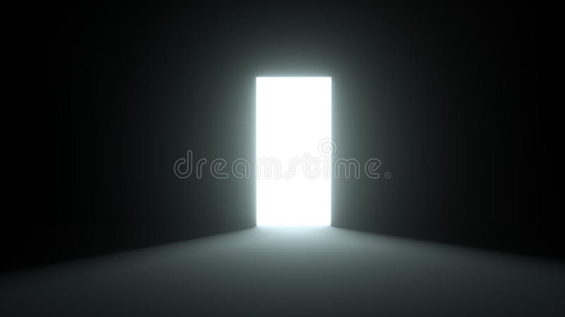 Opening Door Into The Light Stock Footage - Video of lights imagination 50457666 & Opening Door Into The Light Stock Footage - Video of lights ...