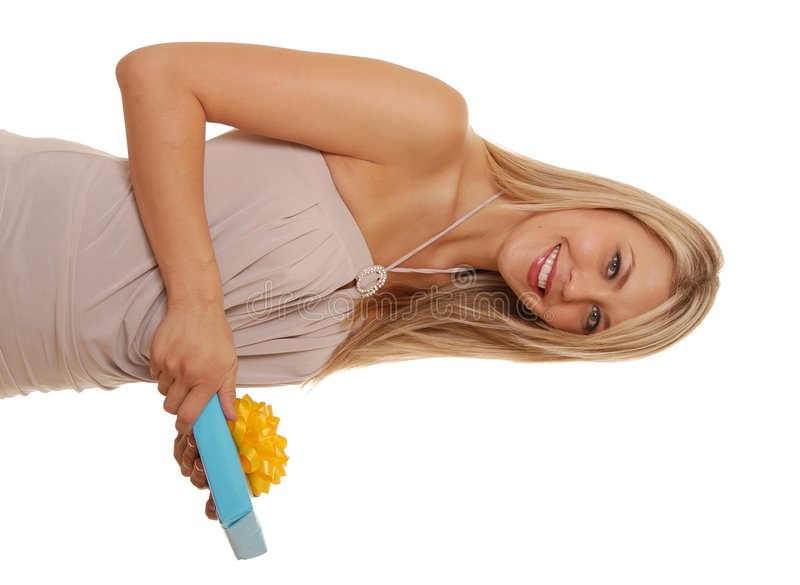 Download Opening Gifts Three stock photo. Image of attractive, close - 1033504
