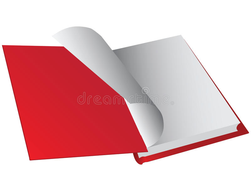 Download Opening hardback stock vector. Image of opening, hardback - 28748152