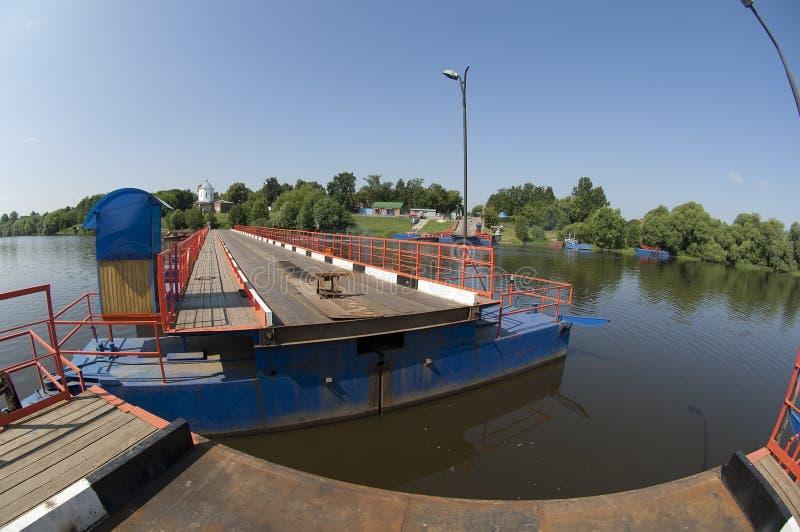 Opening river bridge stock images