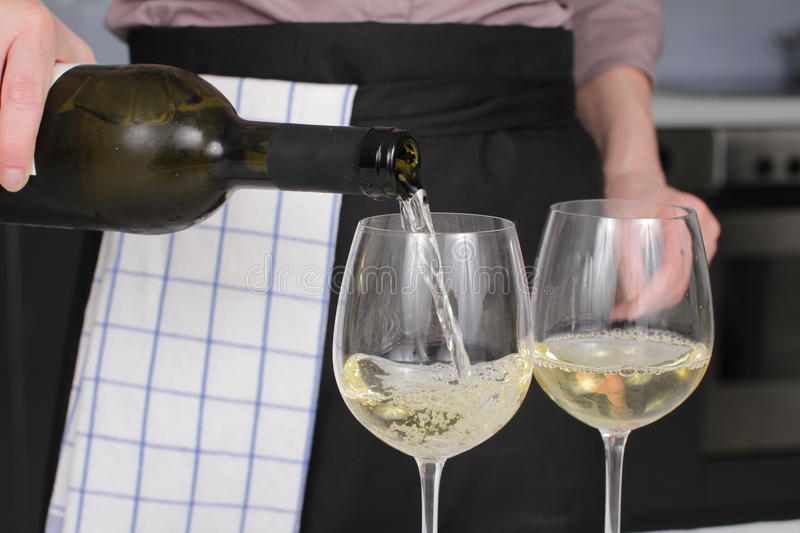 Download Opening a wine bottle stock image. Image of culinary - 28141761