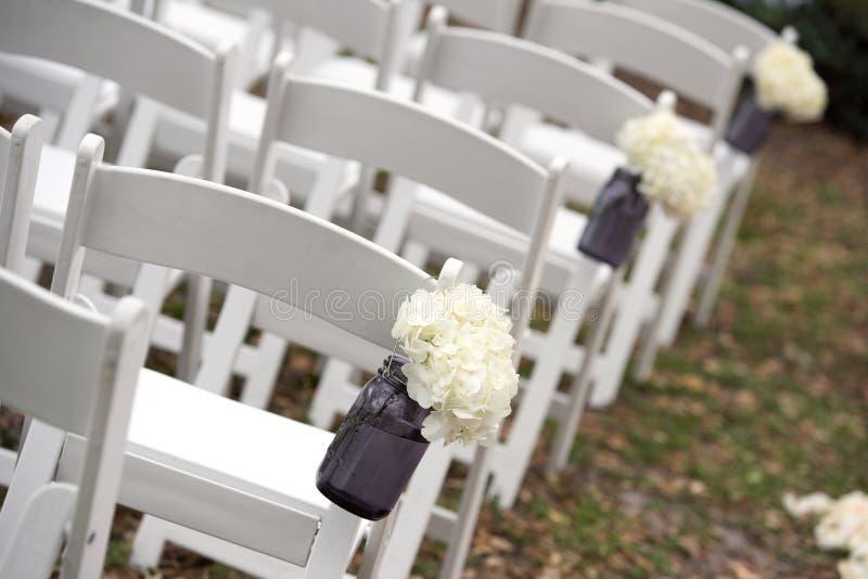 Openlucht Ceremonie royalty-vrije stock foto's