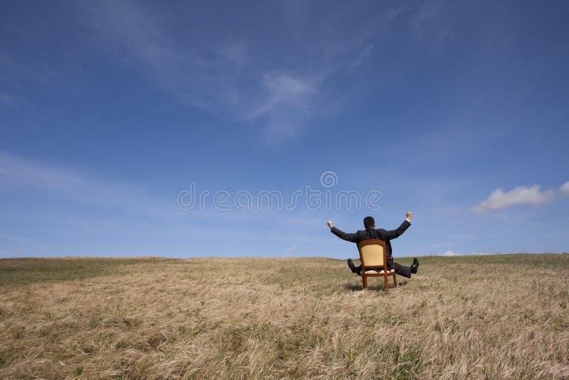 Openlucht ontspan royalty-vrije stock foto