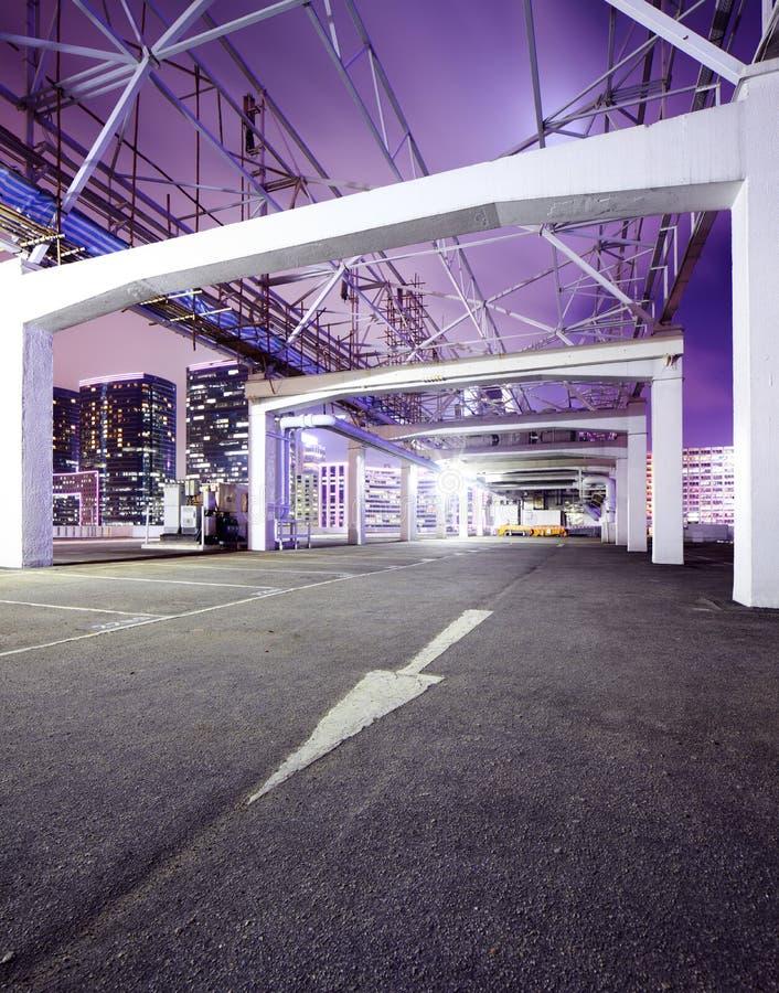 Openlucht parkeren stock fotografie
