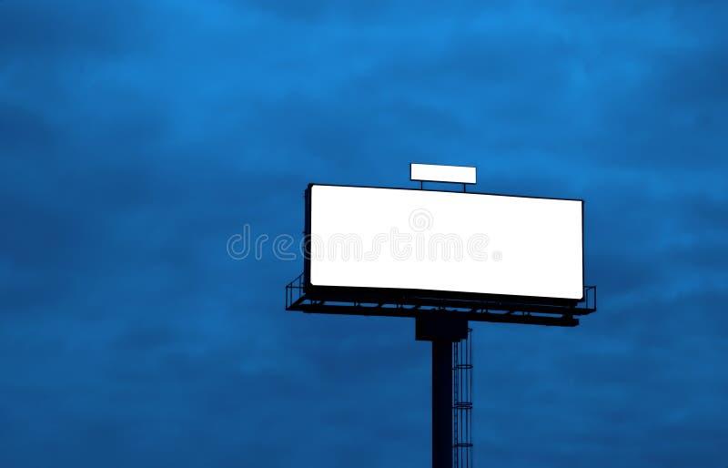 Openlucht reclameaanplakbord royalty-vrije stock foto